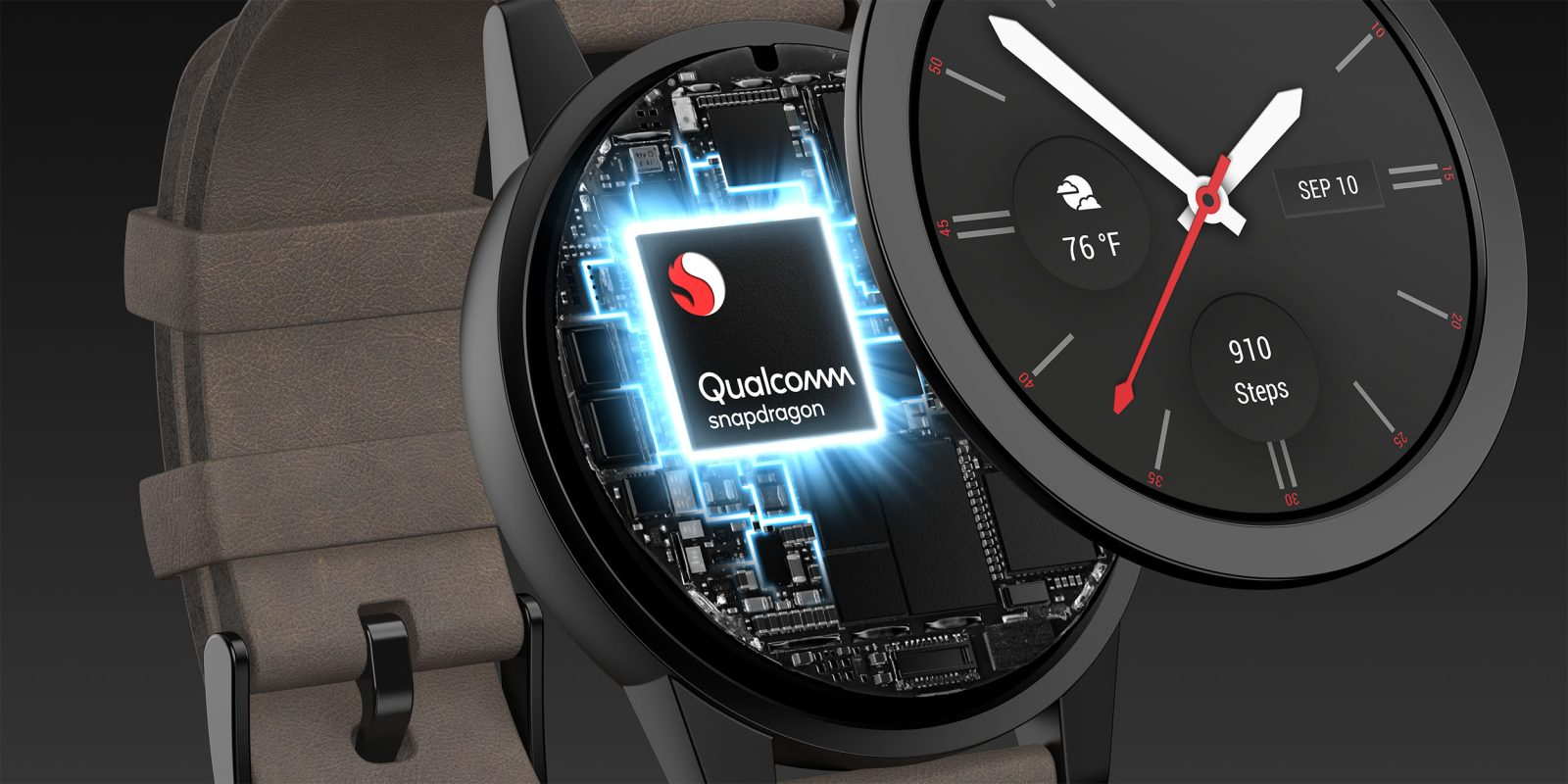 Image result for Qualcomm Snapdragon unveils Wear 3100 Chipset for smartwatches