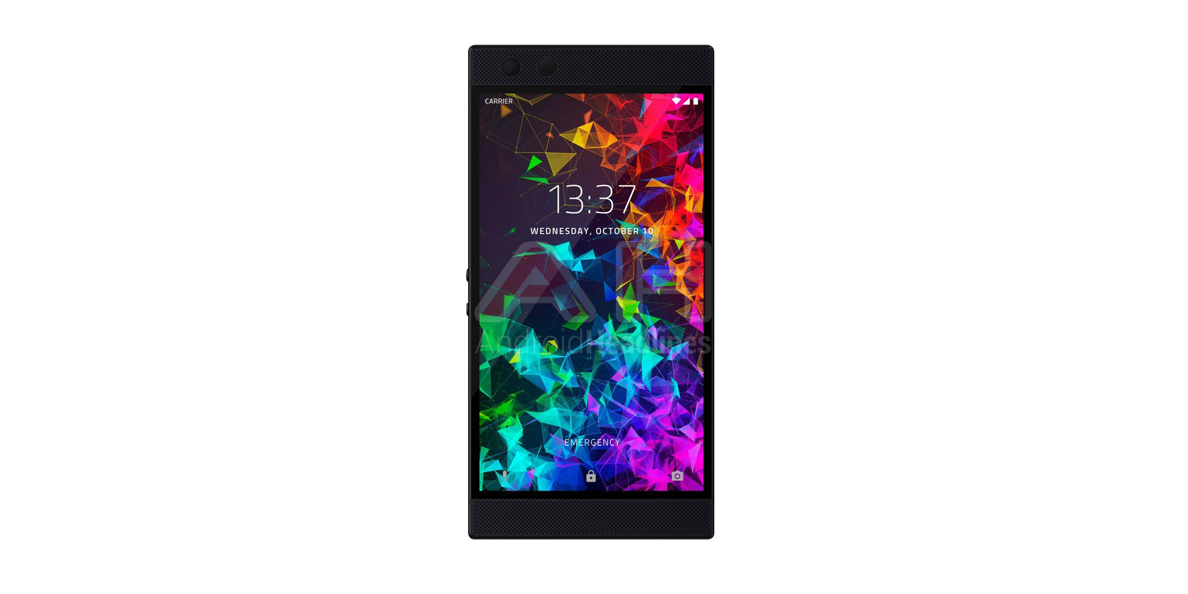 razer phone 2 leaked render