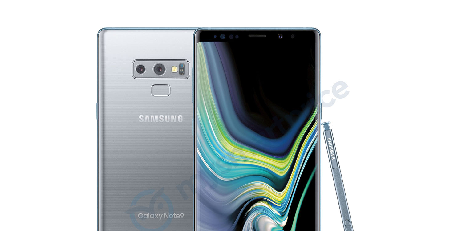 samsung galaxy note 9 leaks out in silver color variant may arrive in us soon