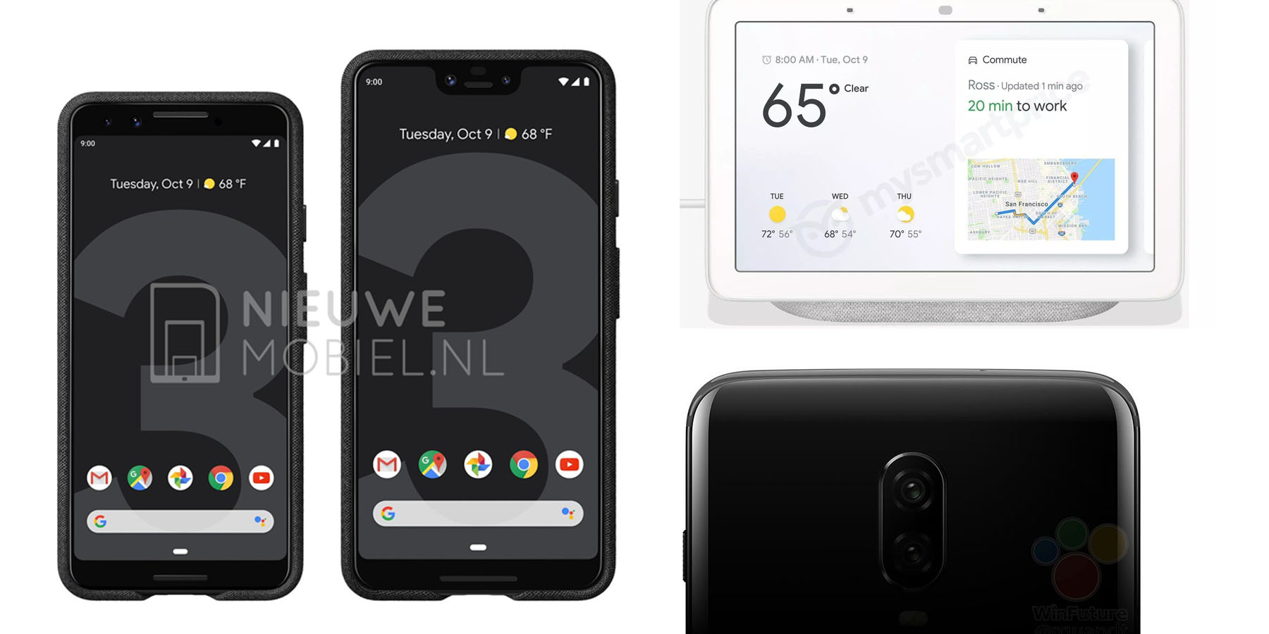 this week s top stories pixel 3 oneplus 6t leaks google home hub android 9 pie for samsung more