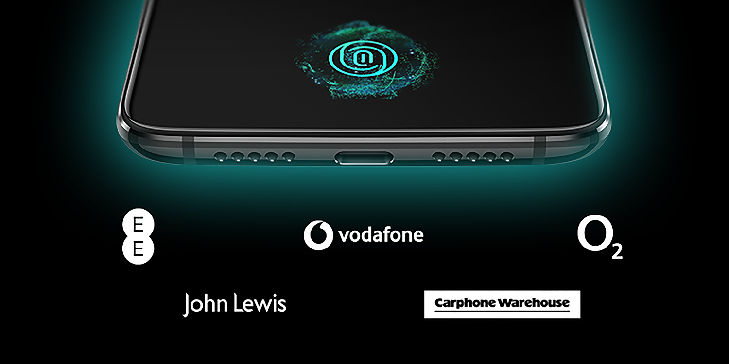 oneplus 6t available at o2 ee vodafone john lewis and carphone warehouse in the uk