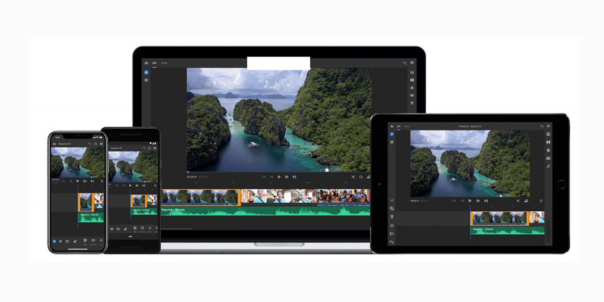 adobe premiere rush cc launches on android in 2019 youtube centric video editing app