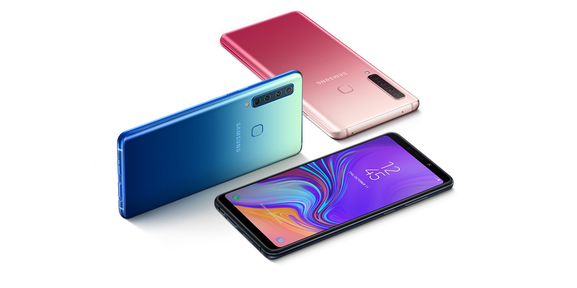 the samsung galaxy a9 goes official first smartphone w four rear cameras video
