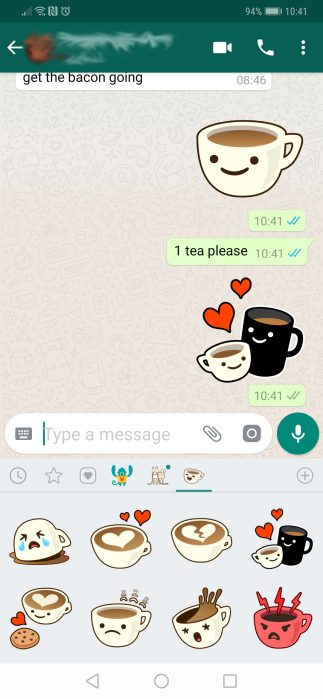 WhatsApp stickers are finally here - 9to5Google