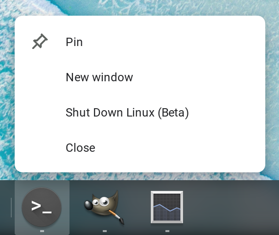 Chrome OS Linux support to gain folder sharing, Google Drive