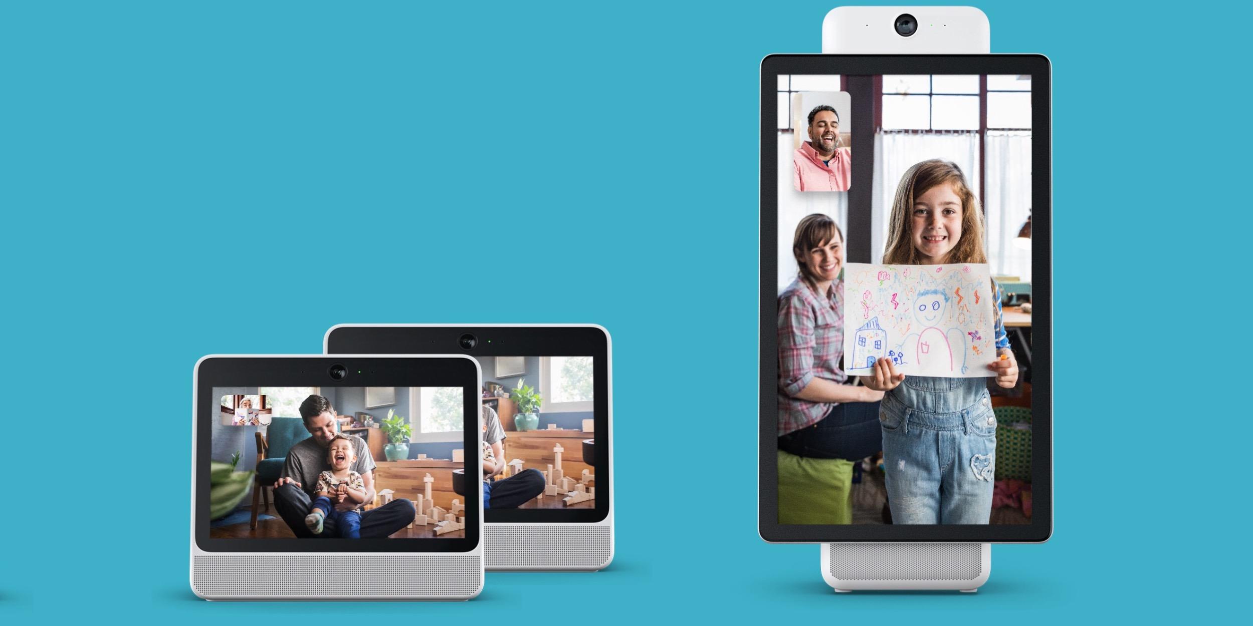 ahead of google home hub facebook unveils portal and portal video calling device w alexa
