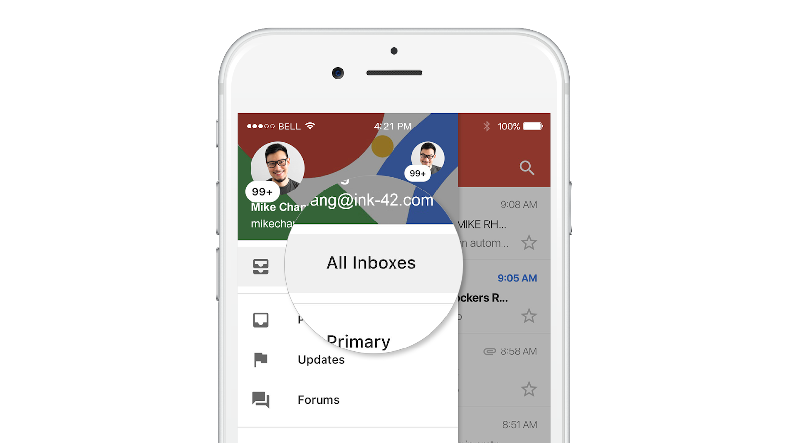 Gmail for iOS adds unified inbox to view emails from multiple