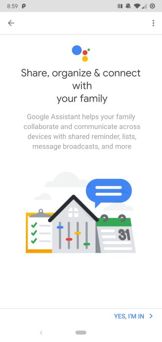 Google Assistant Households