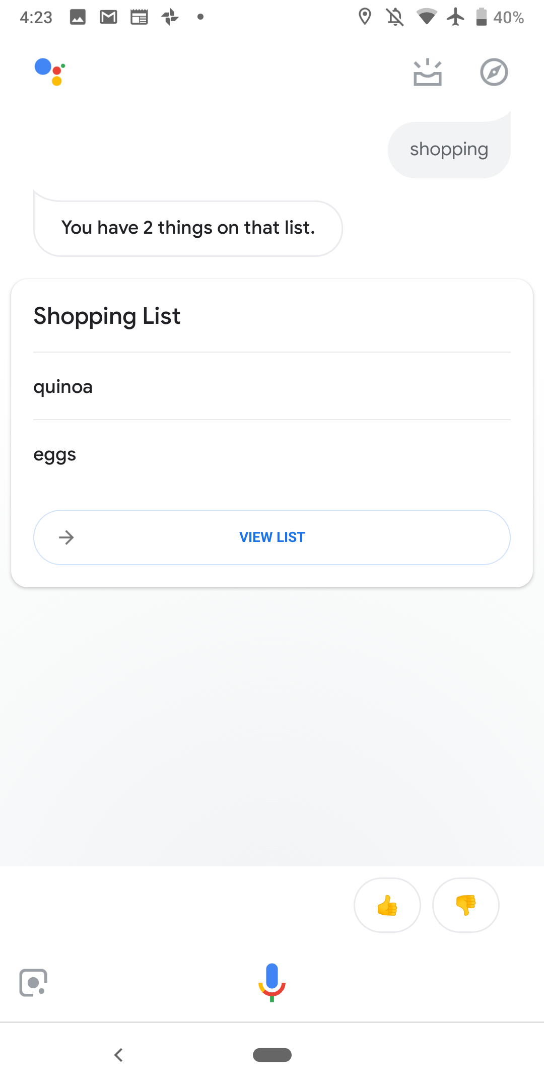 Google Assistant lists and notes integration begins rolling out