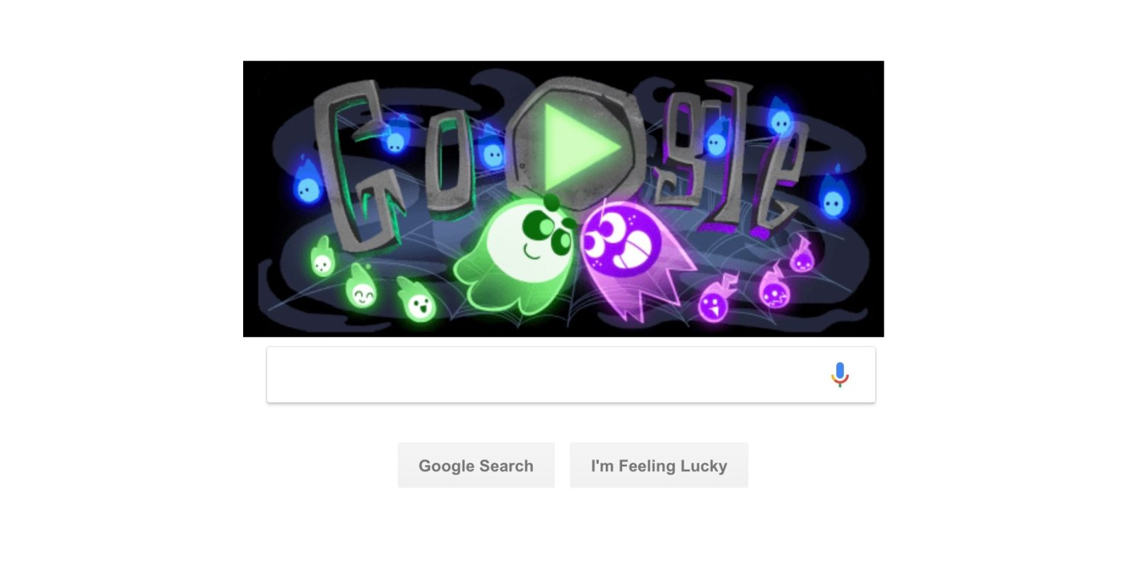 Google celebrates Halloween w/ multiplayer Doodle game