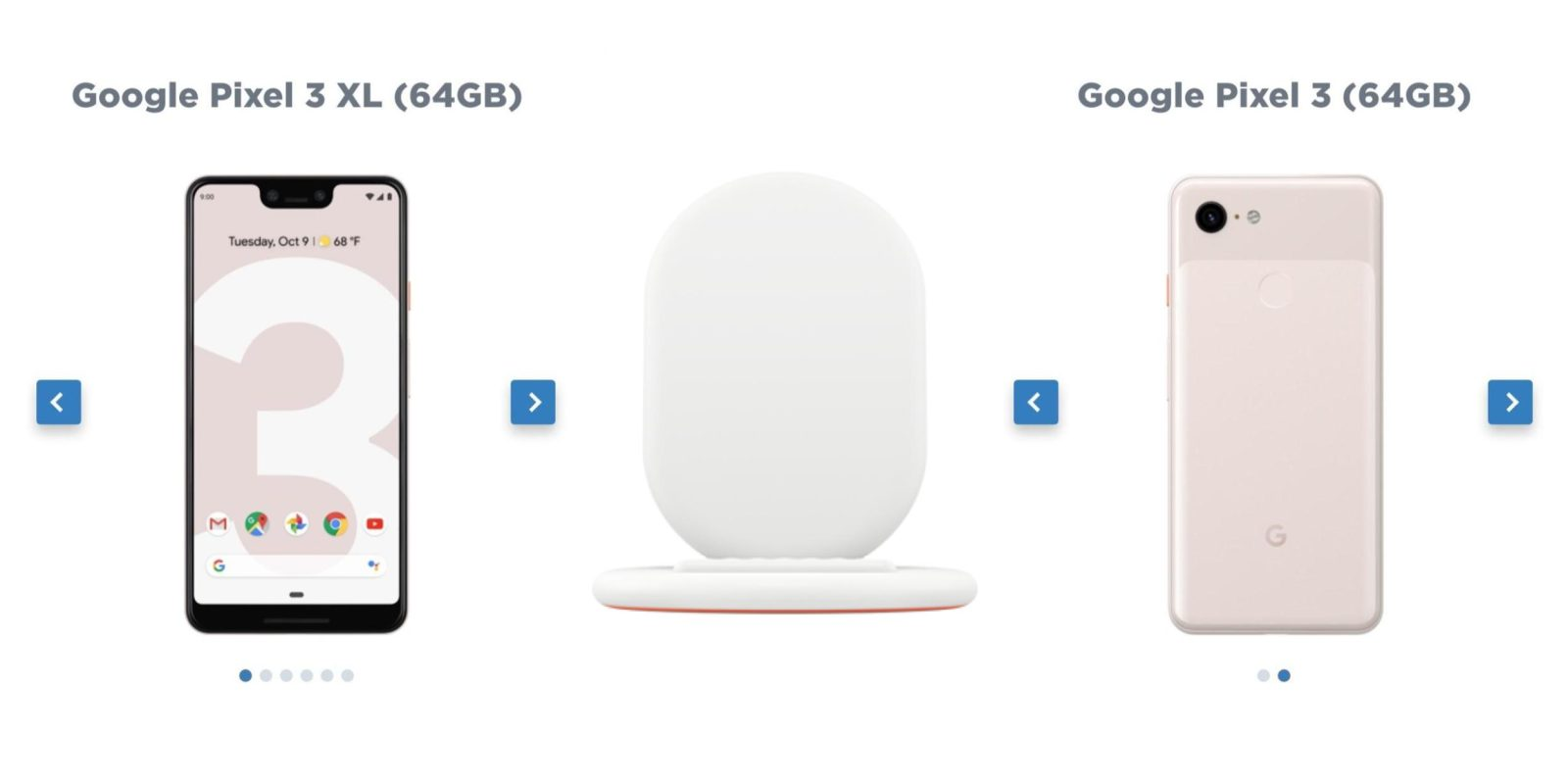 premium selection 2321b edf76 Google Pixel 3 'Not Pink' leaked, only available in 64GB - 9to5Google