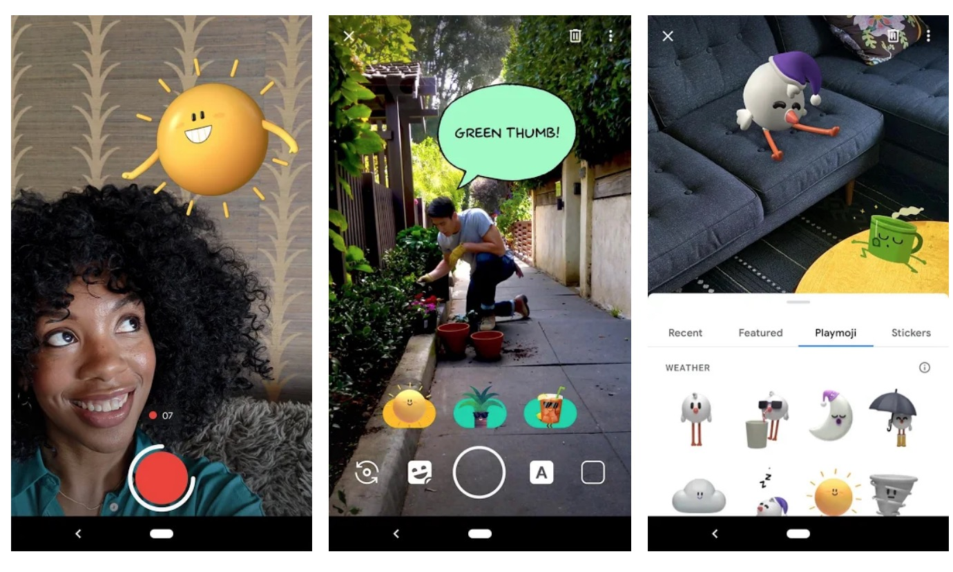 Google AR Stickers are now called Playground w/ new packs - 9to5Google