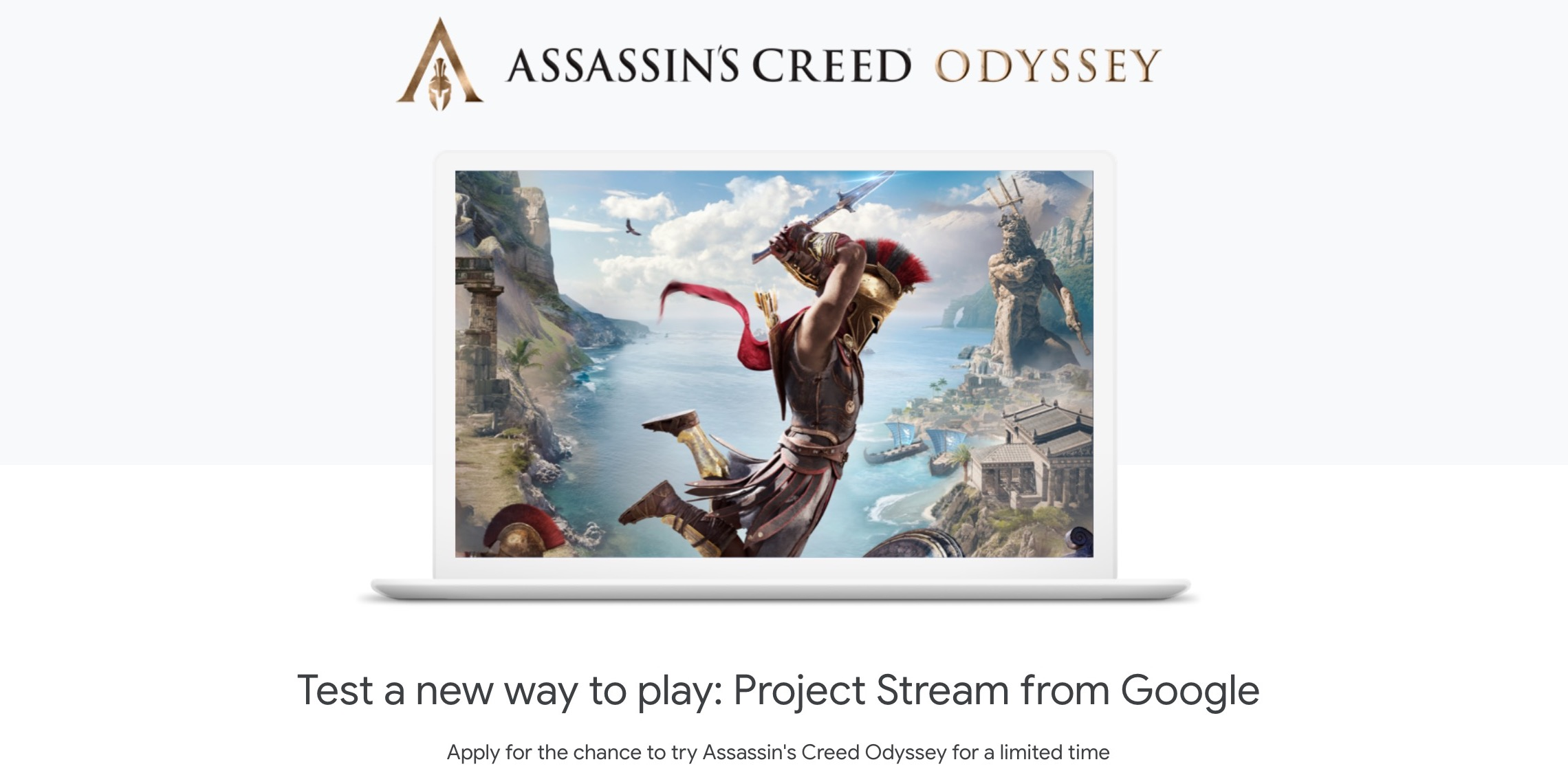 "Test-Test von Googles Project Stream für ""Assassins Creed Odyssey"" ist beendet"