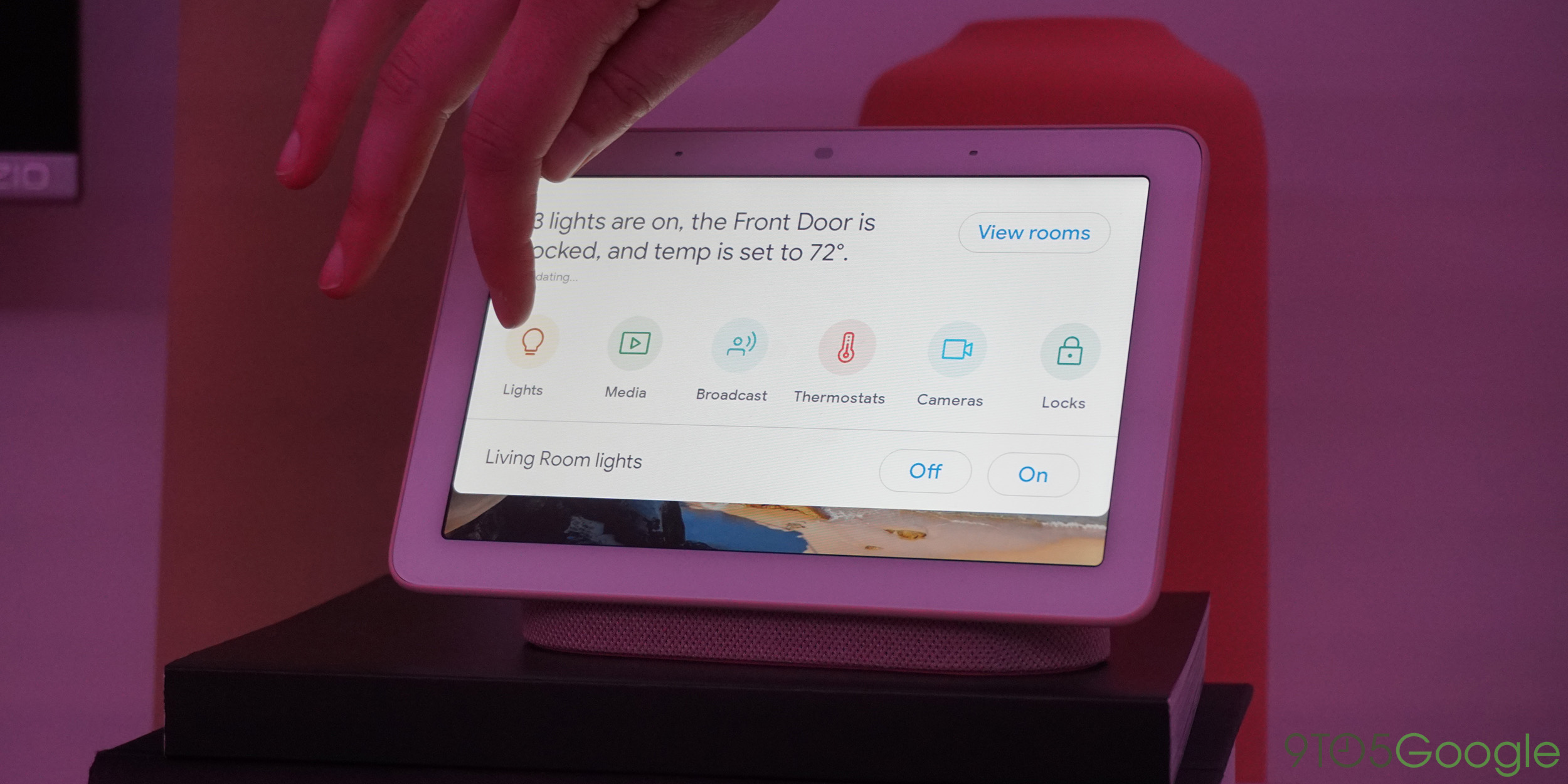 home view multi room audio other google home hub features coming to all smart displays