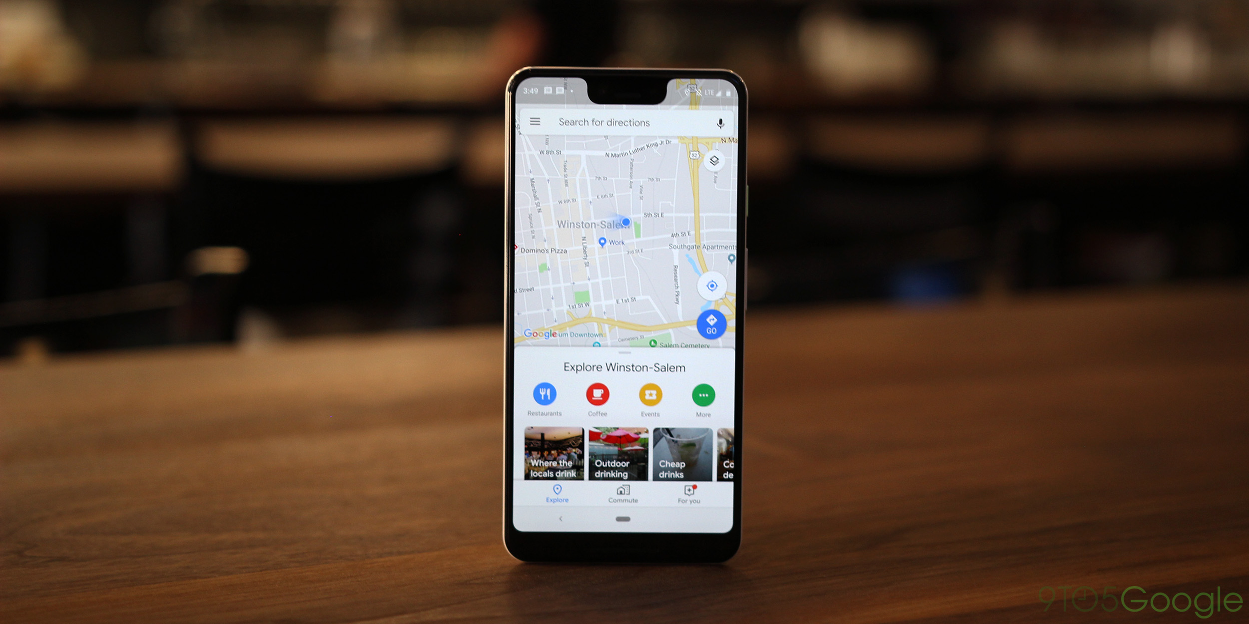 Google Maps For Android Revamps Nav Drawer With Google Material Theme Tweaks