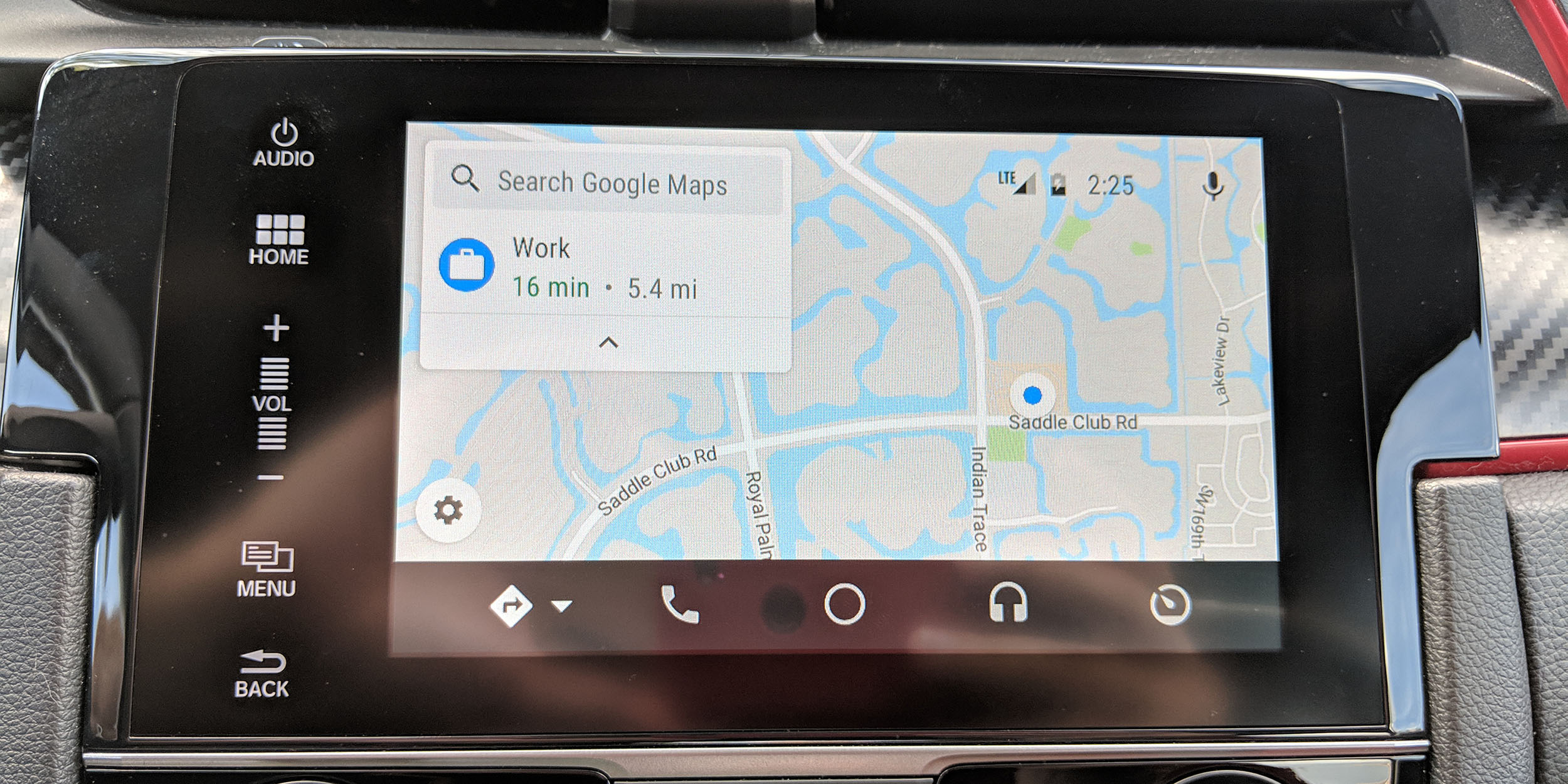 Google Maps On Android Auto Updated W Refresh Layout 9to5google