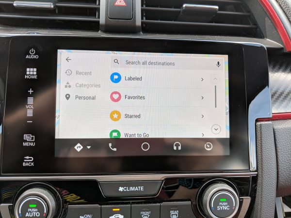 Google Maps on Android Auto updated w/ refresh layout