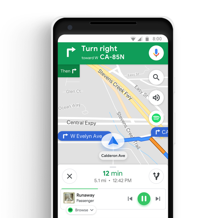 Google Maps Adds Commute Tab Music Integration 9to5google