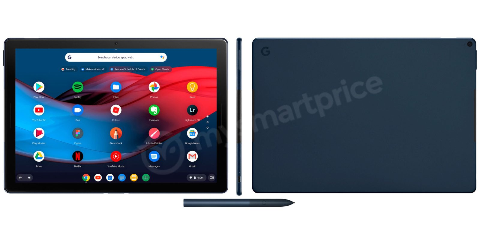 Google Pixel Slate images show off the hardware, keyboard - 9to5Google