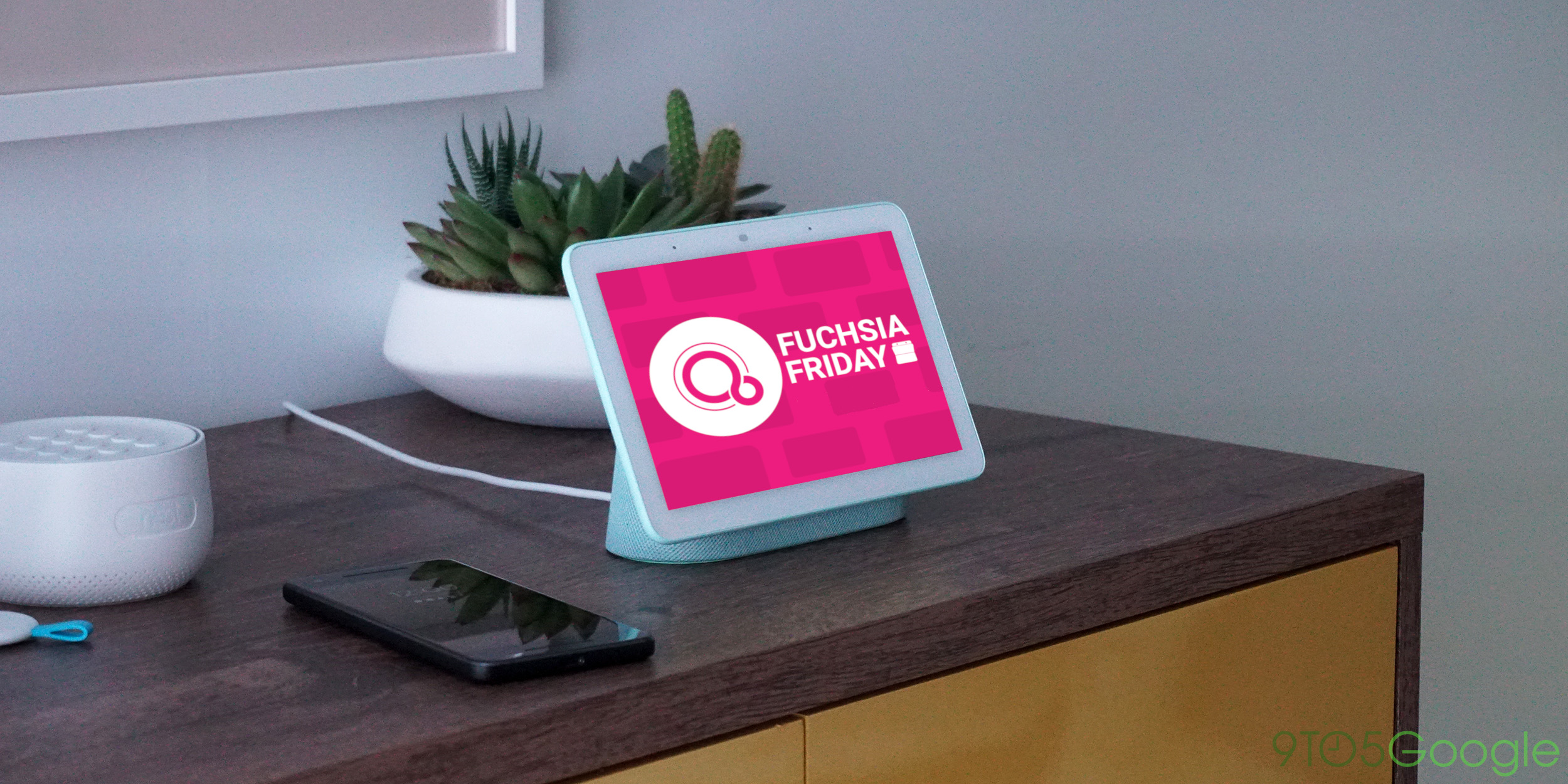 The newly-launched Google Home Hub is 'Astro,' a known Fuchsia OS test device