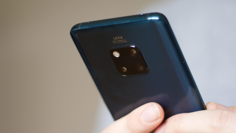 huawei mate 20 pro update improves face unlock  camera