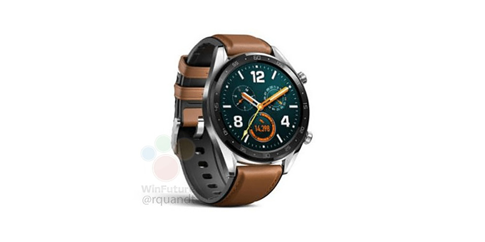 update not wear os huawei watch gt leaks w new design alleged 14 day battery life power saving modes