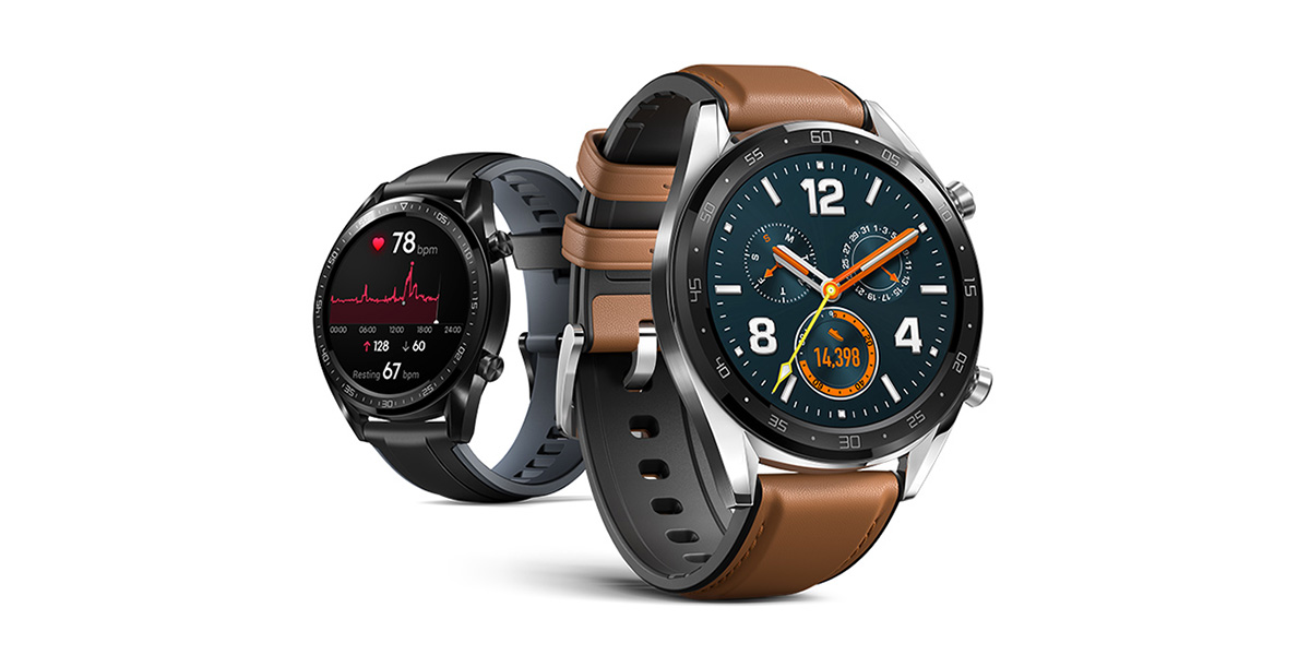 Huawei Watch GT goes official w/ 14-day battery life, fitness features, doesn't use Wear OS
