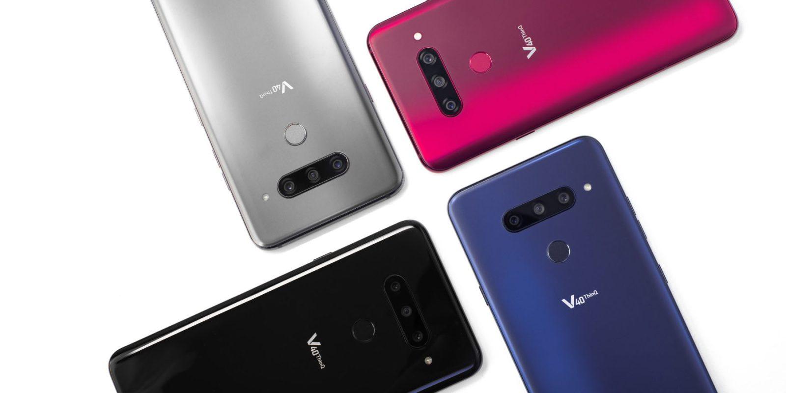 🙂 Sin más filtraciones aquí están todas las especificaciones oficiales del nuevo LG V40 ThinQ