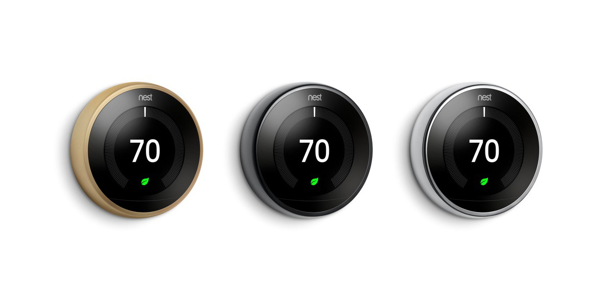 Nest Learning Thermostat Launches Three New Colors