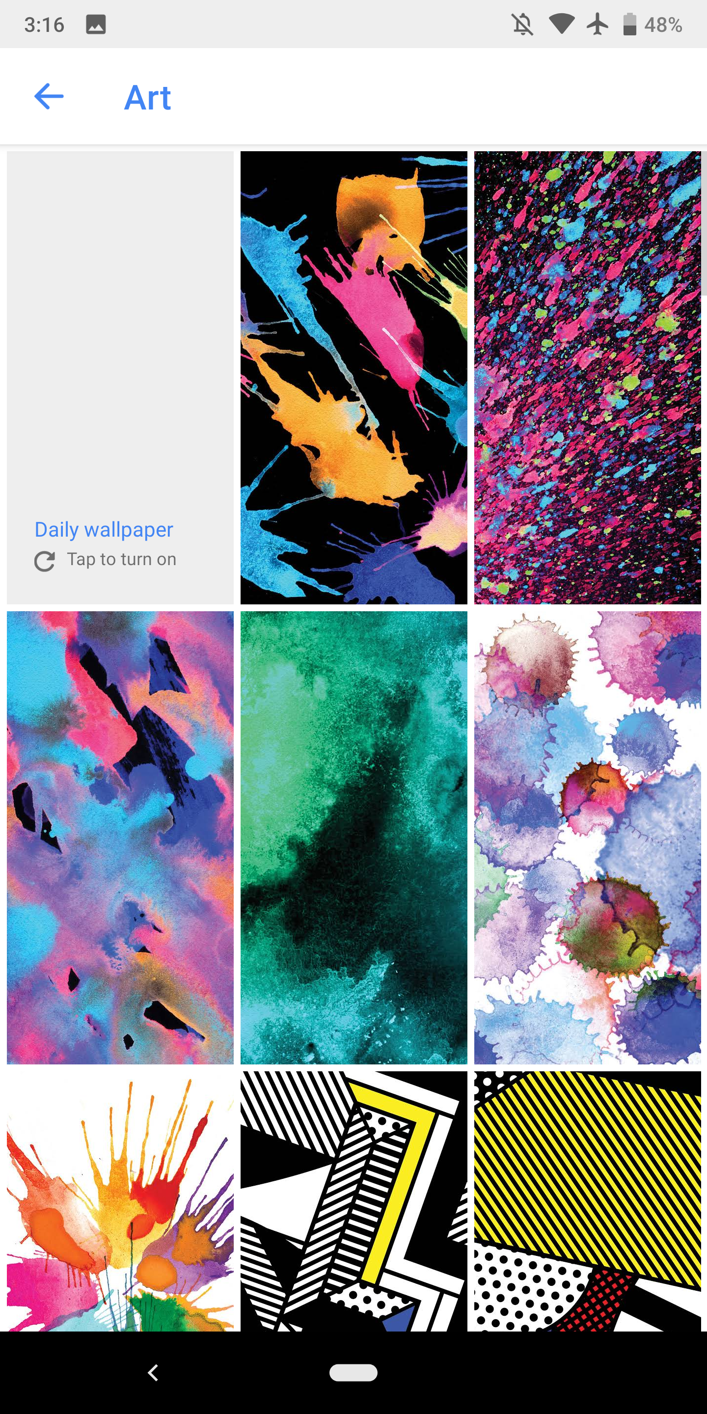 new google wallpapers include more art earth life images 9to5google