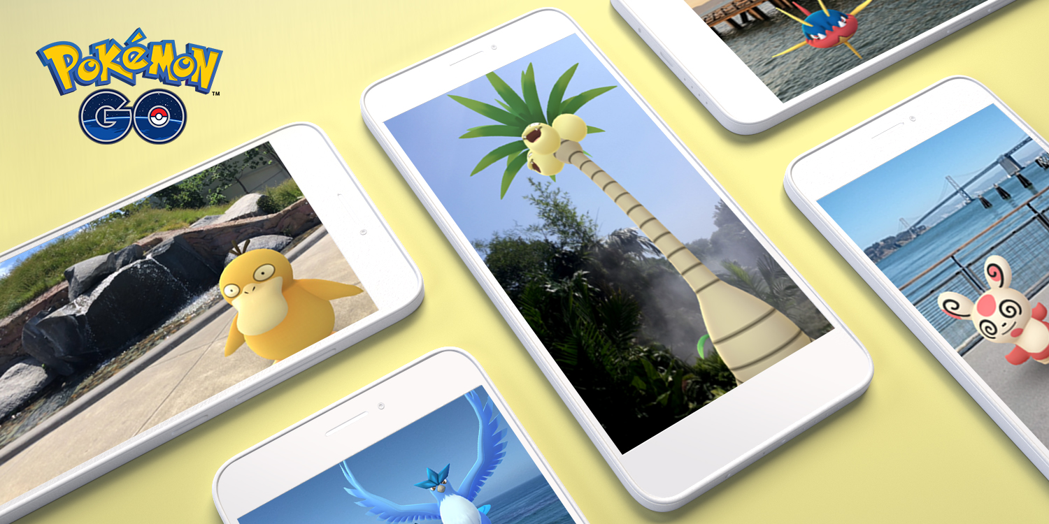 pokmon go ar comes to arcore android devices for more realistic gameplay