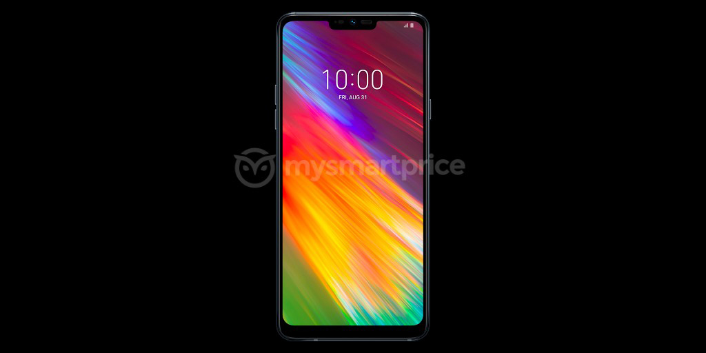 Alleged LG Q9 press render leaks showing notched 6.1-inch display