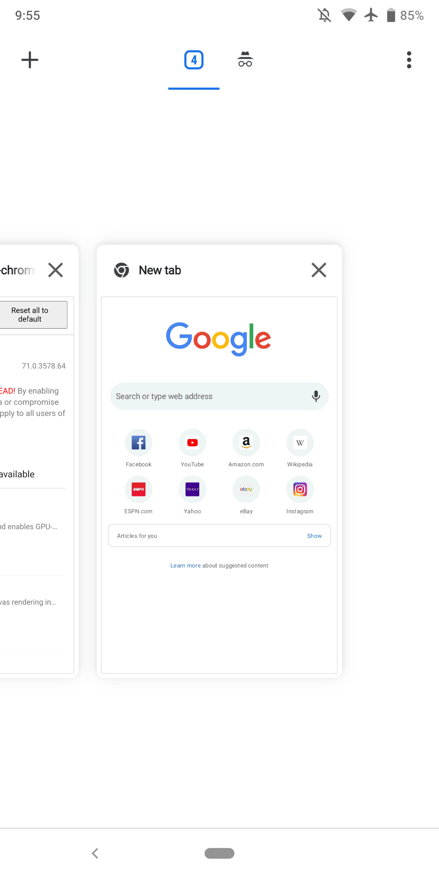 Chrome 71 for Android rolling out w/ settings tweaks, billing