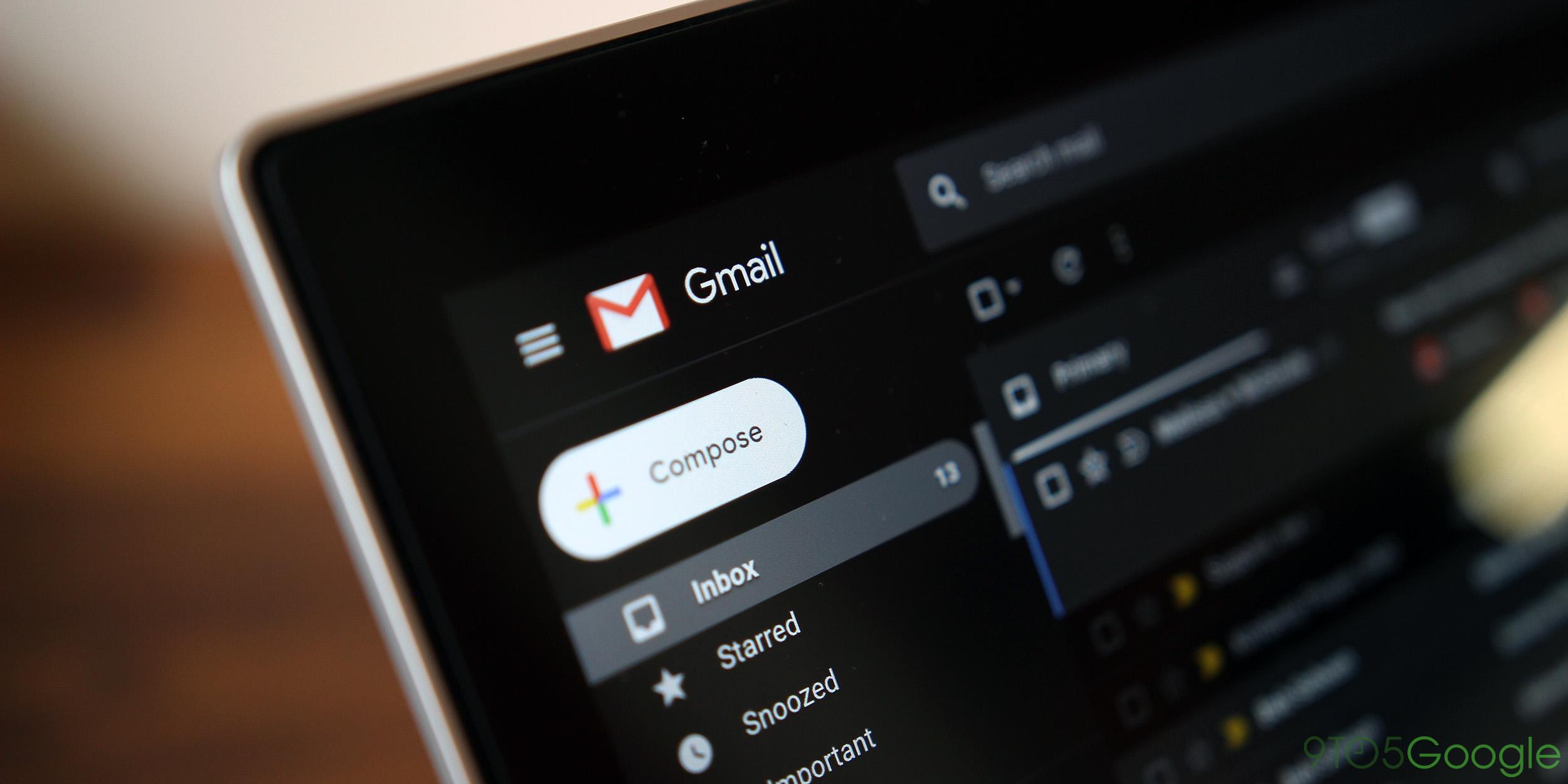 Gmail Dark Mode