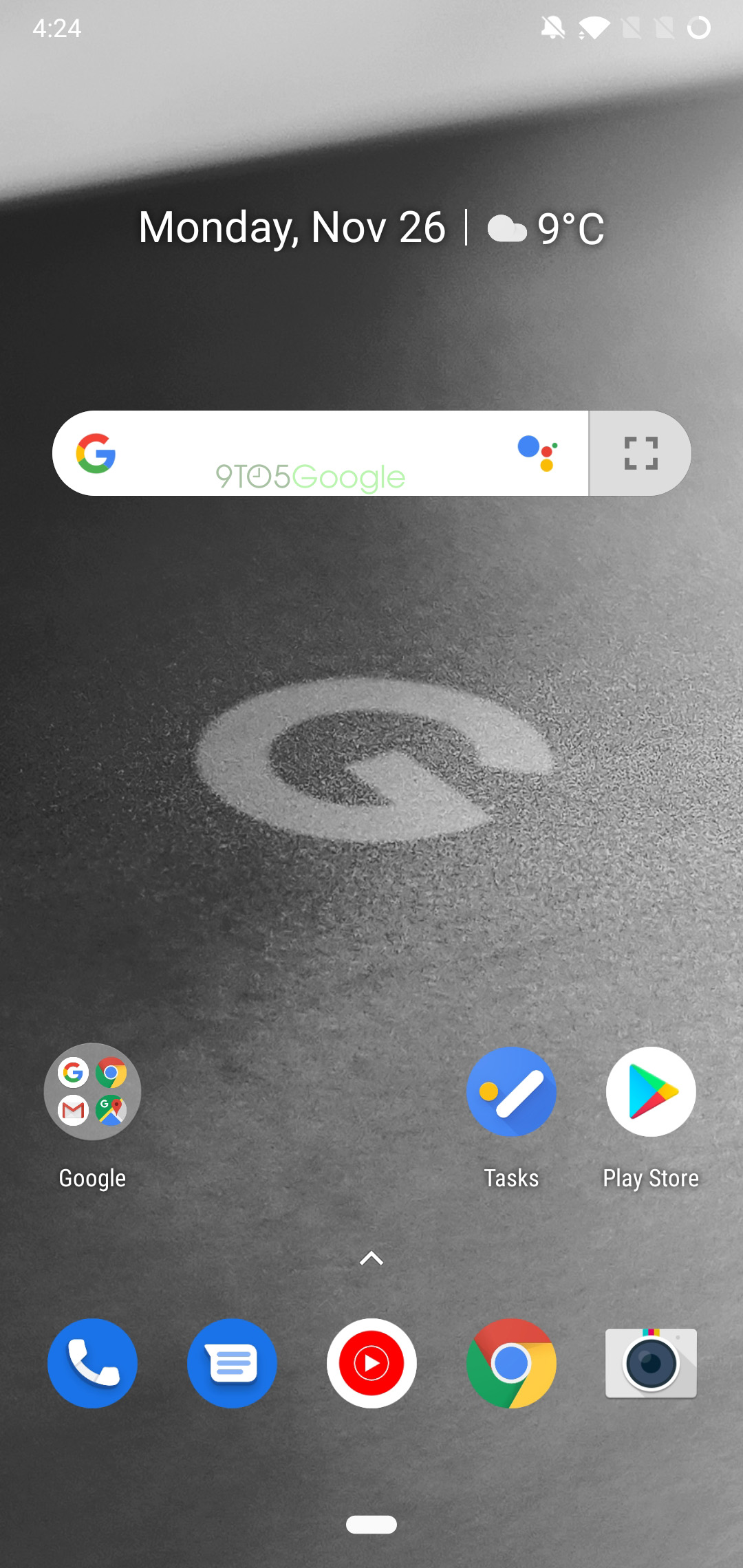 Google app 8 59 preps expanding Search widget, wider Continued