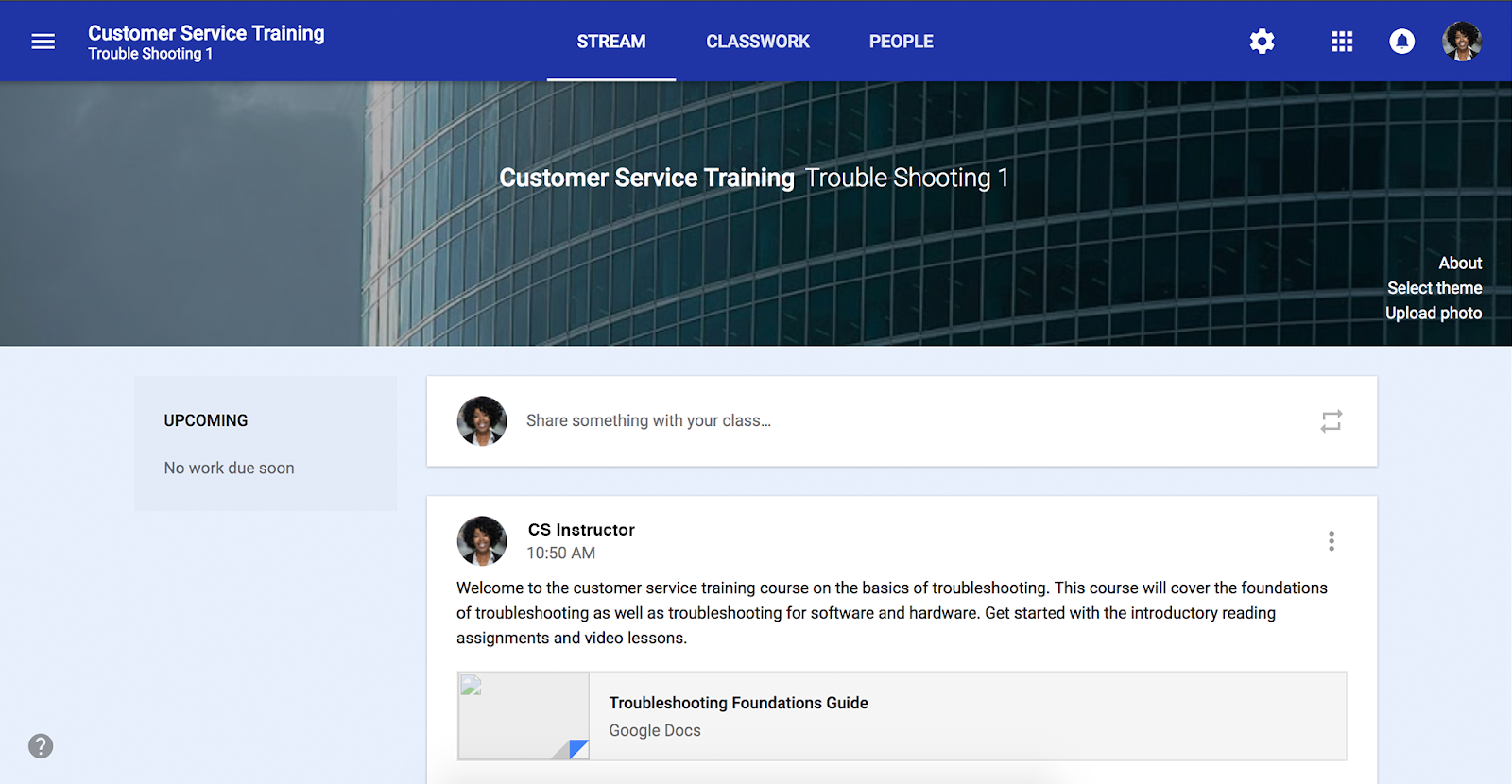 Google Classroom for G Suite