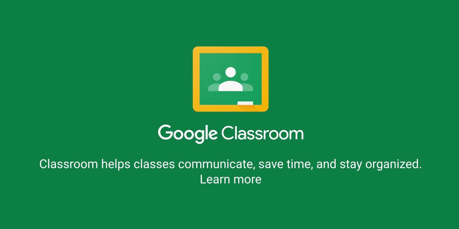 Google Classroom now available for enterprise G Suite accounts ...