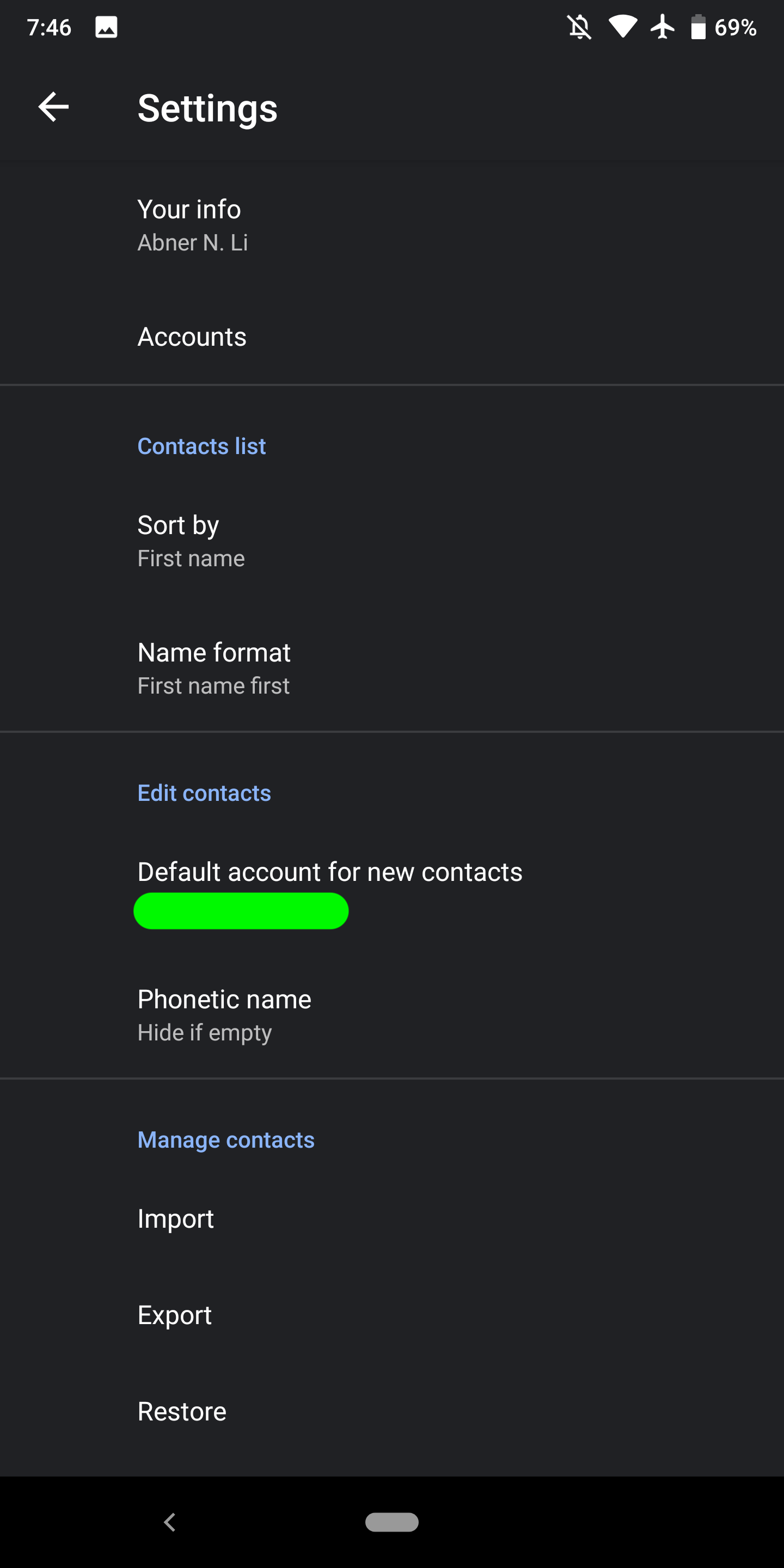 how to edit contacts in gmail account