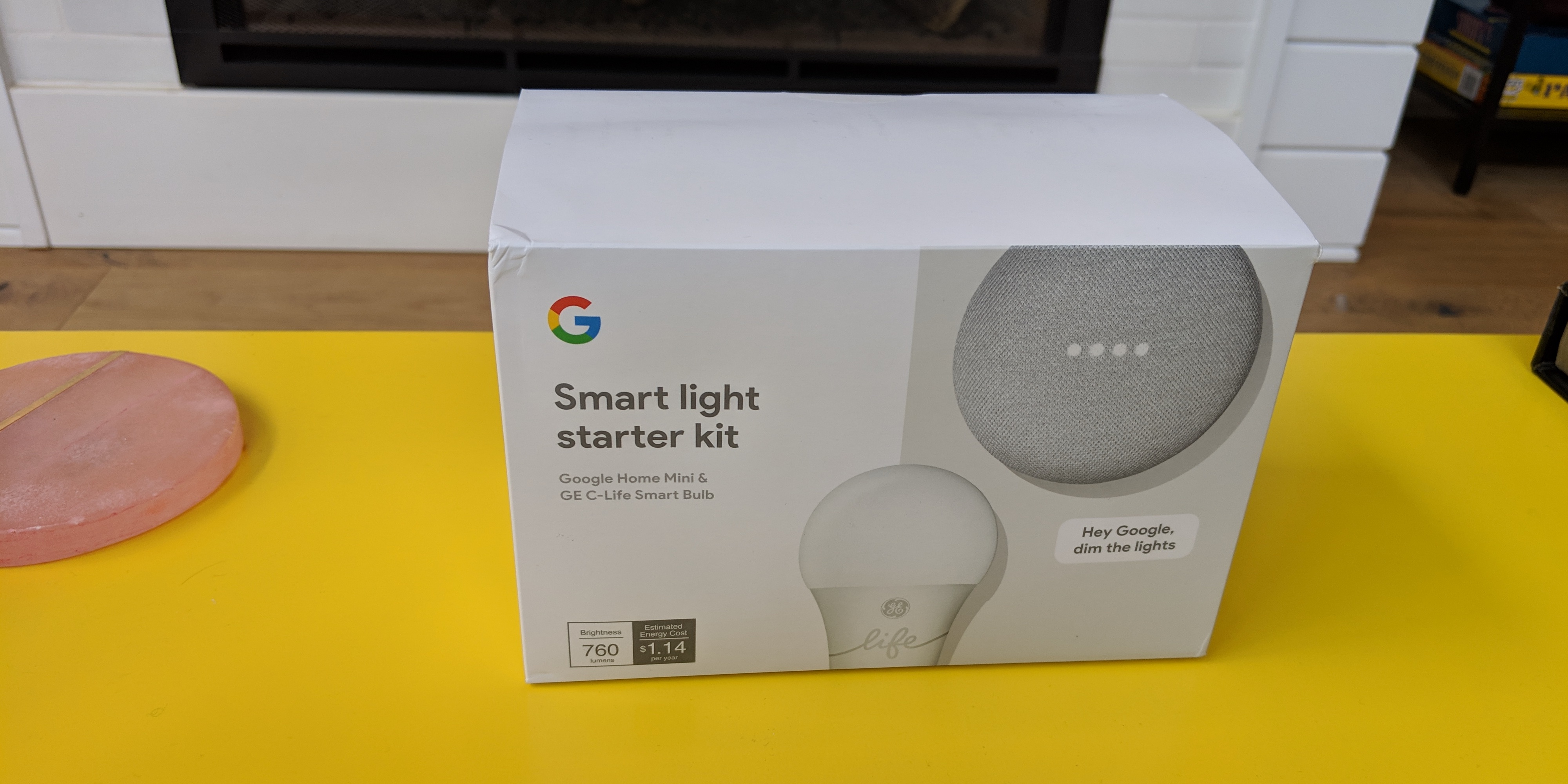 Google Home Mini Package