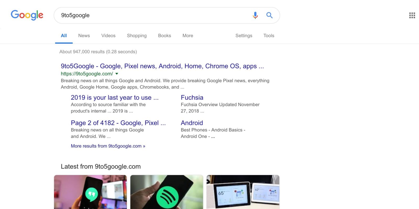 Google Search Material Theme rolling out - 9to5Google