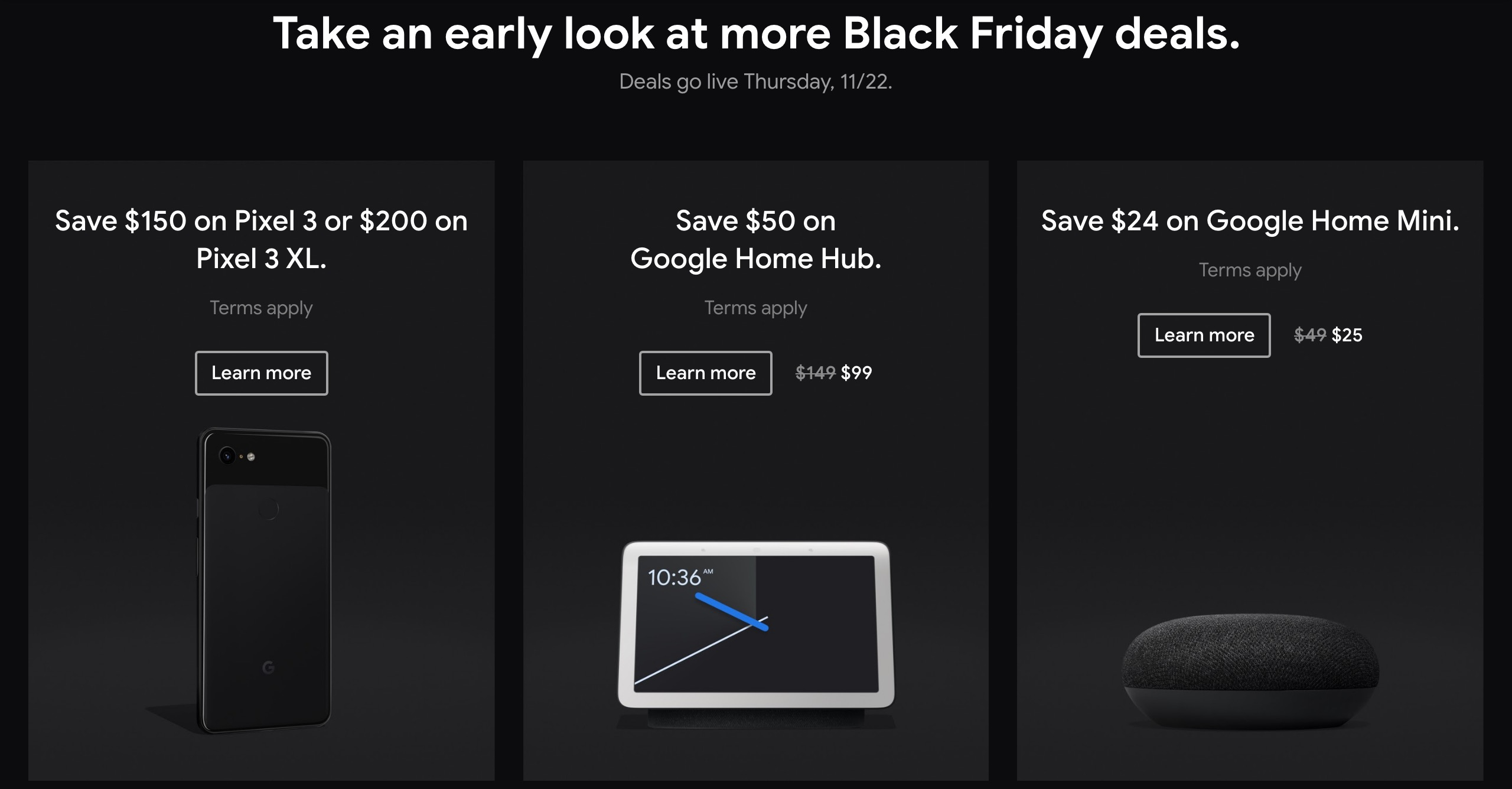 Google Store Black Friday