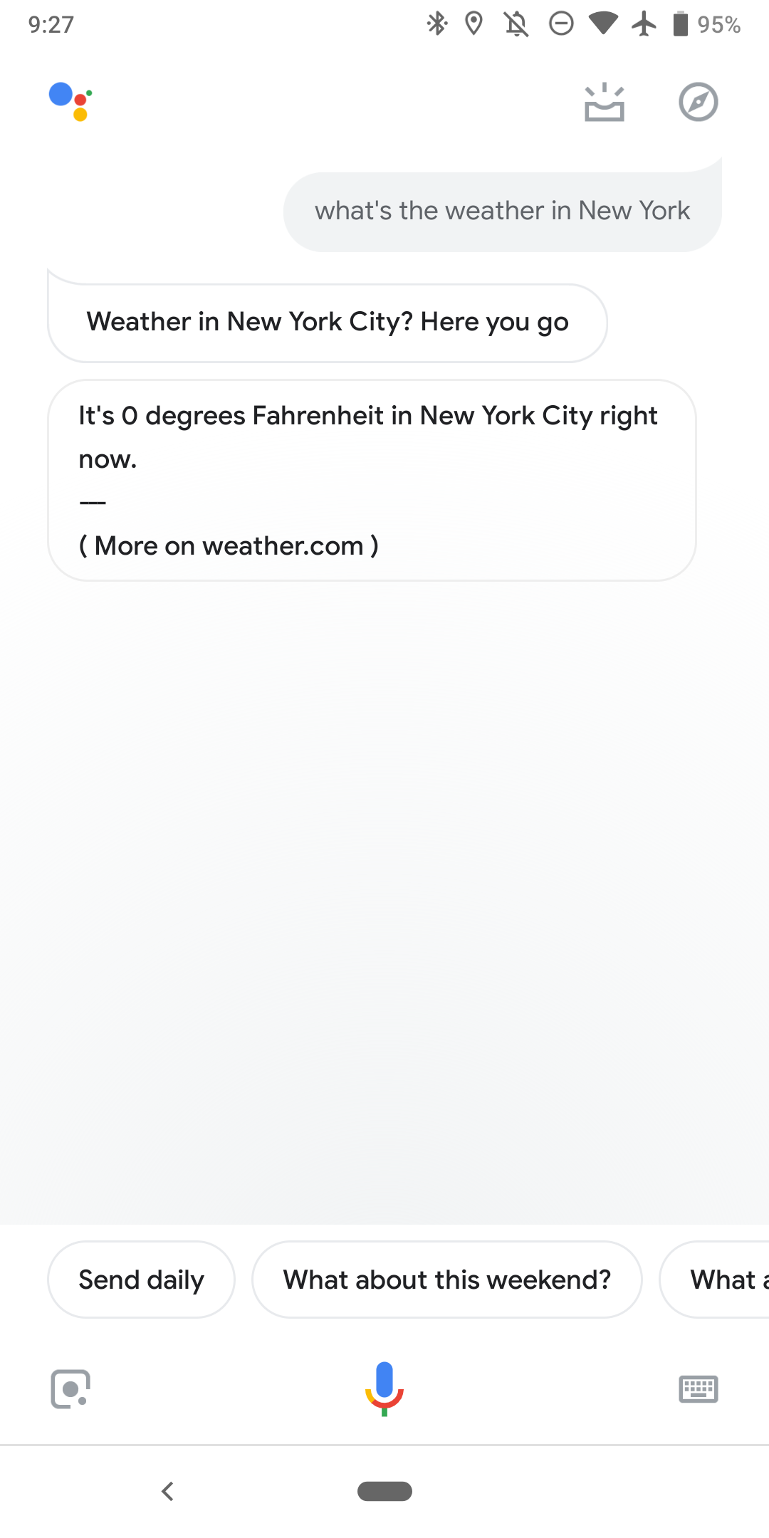 Google Weather is down on Google Home, Assistant, more