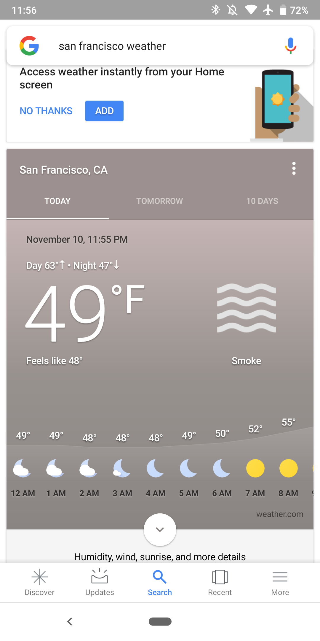 Google Weather missing air quality section on Android - 9to5Google