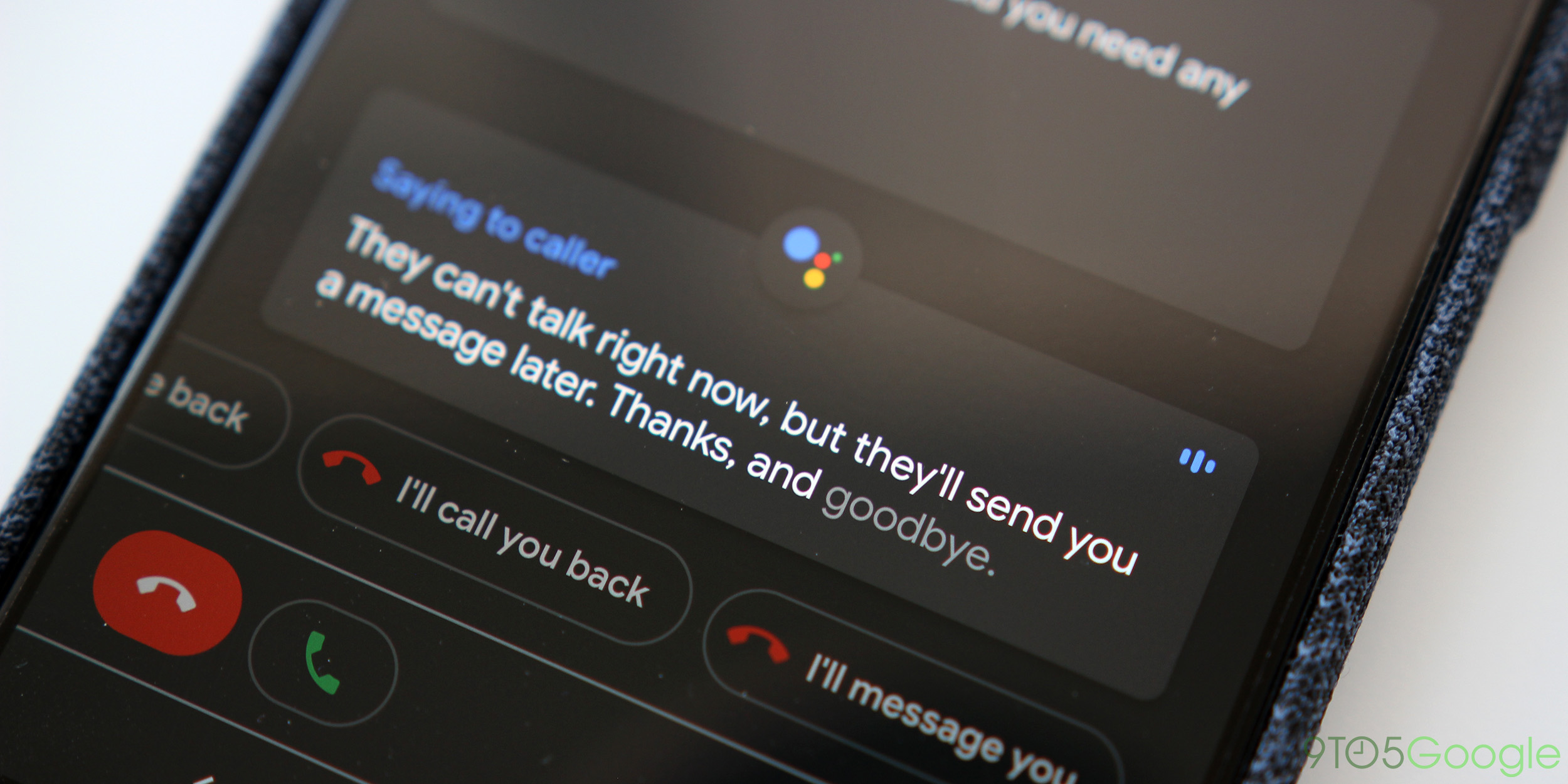 Google 'Call Screen' will enable saving transcripts starting later this year for Pixel users