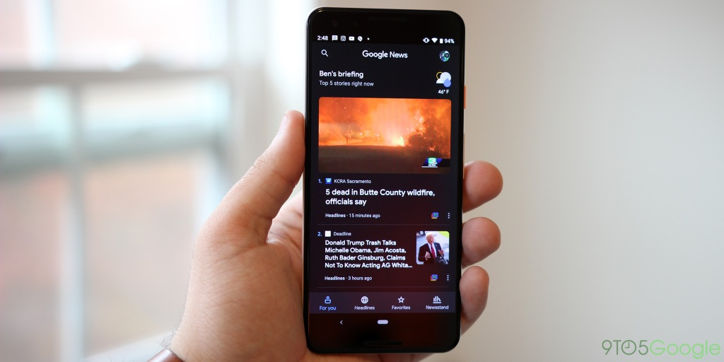 Google News for Android and iOS now supports bilingual feeds