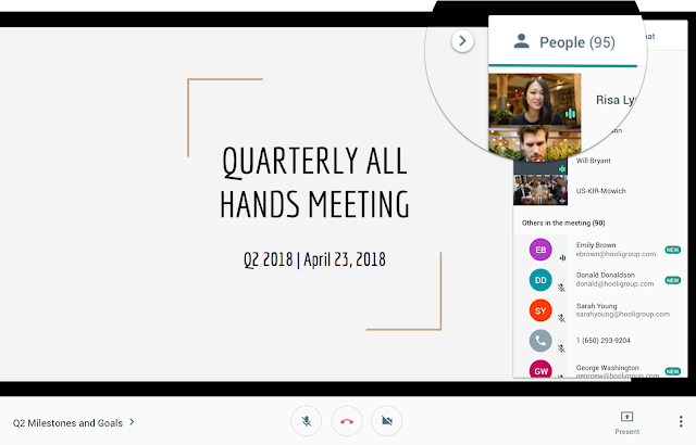 Google Hangouts Meet Supports Up To 100 Participants 9to5google