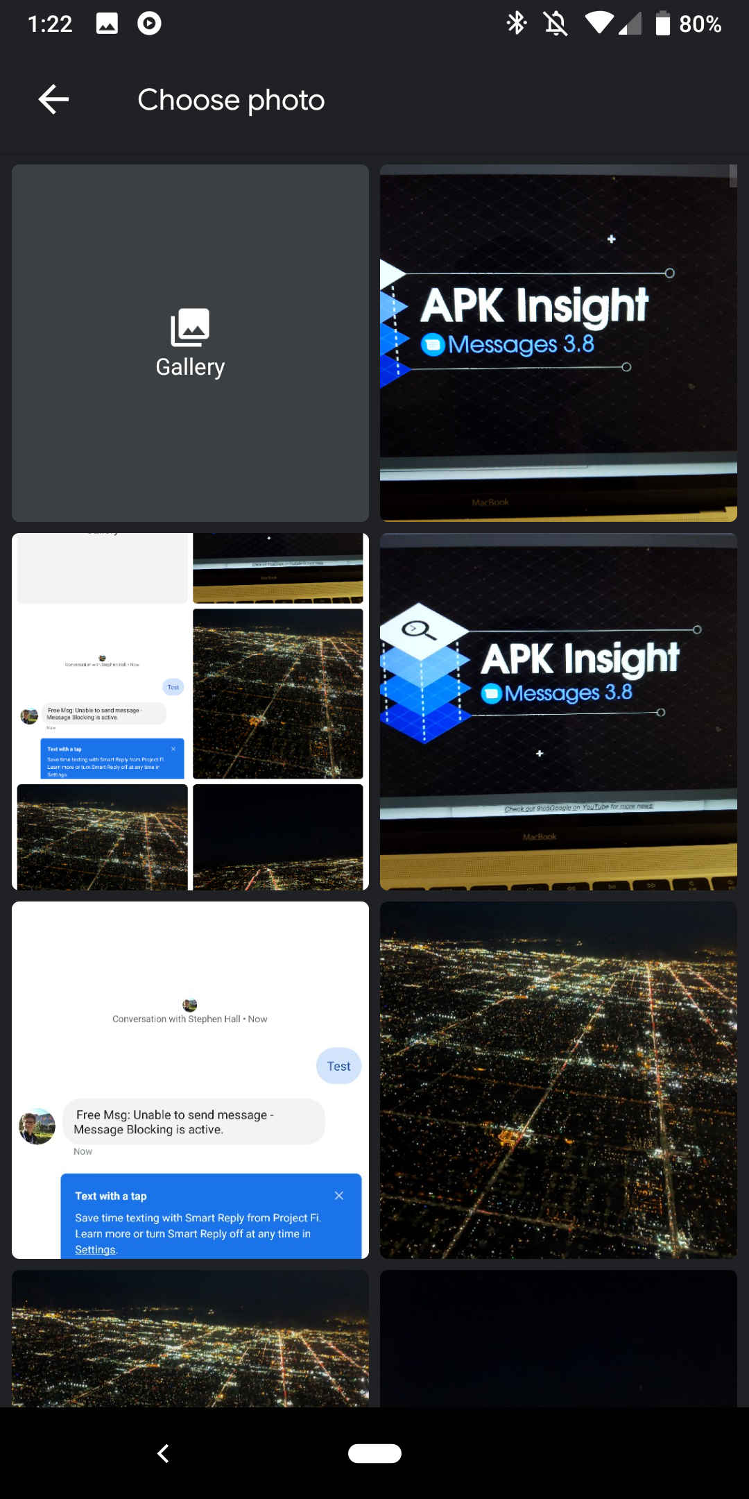 Messages 3 8 features revamped camera and gallery UI [APK Insight