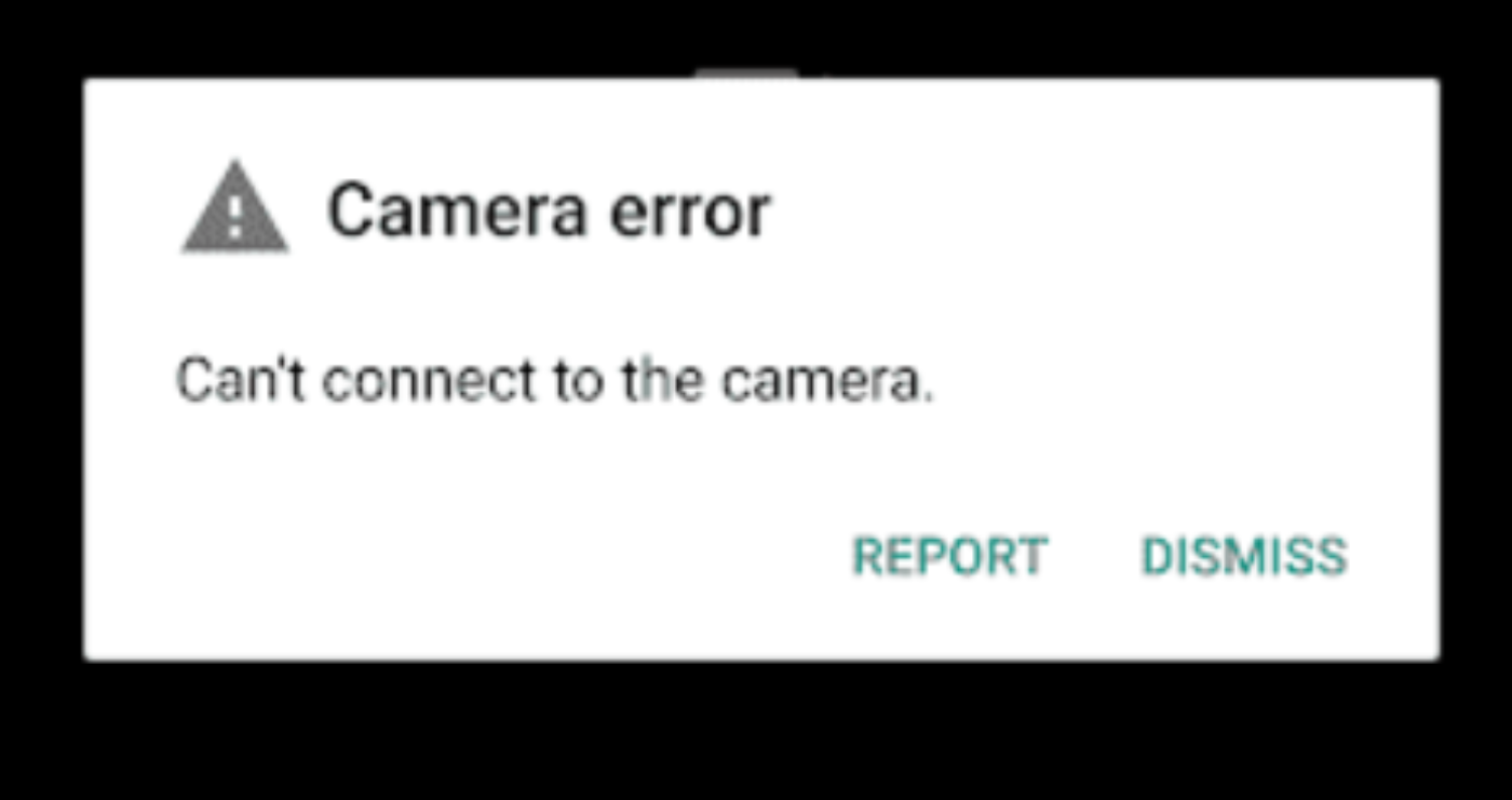 pixel 3 fatal camera bug can't connect to camera
