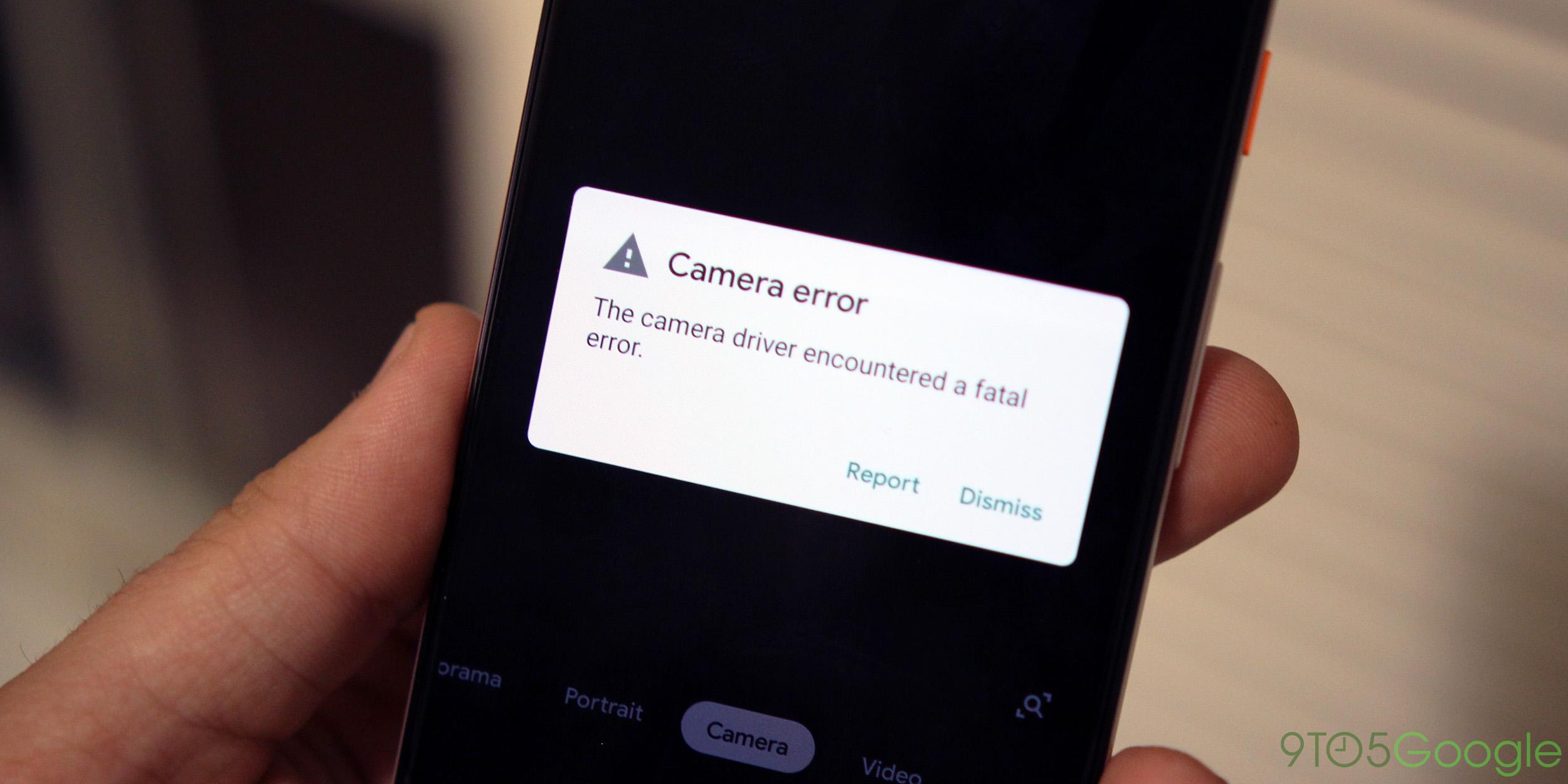 pixel 3 fatal camera bug