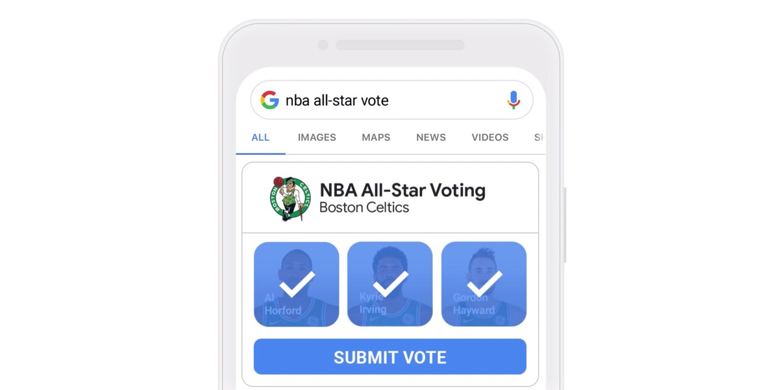 1c0778e151b Google  presenting  2019 NBA All-Star Voting